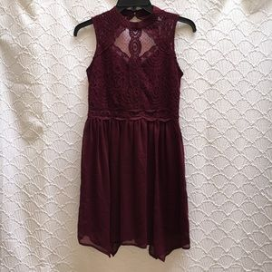 NWOT Burgundy Homecoming/Prom/Formal Dress